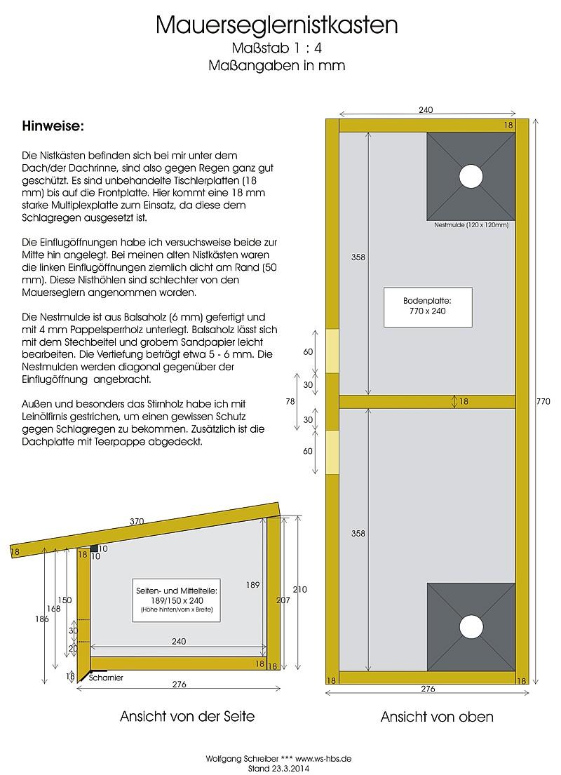 mauersegler ansiedlung aufzucht nistkasten. Black Bedroom Furniture Sets. Home Design Ideas